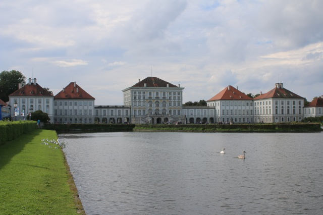 The palace's eastern facade.